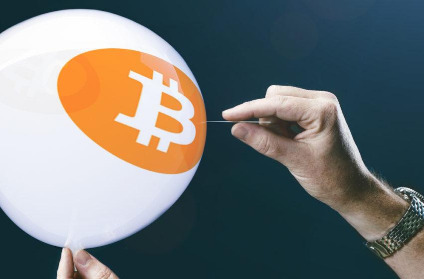 Bitcoin Broadening Wedge Formation Indicates Crash Below $30,000