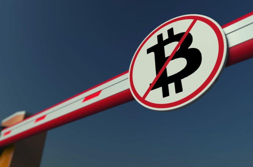 Bank Begins Blocking Shares Of Companies Who Buy Bitcoin