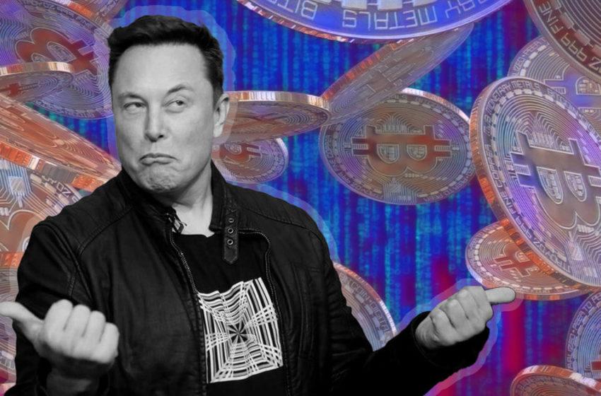 Bitcoin falls $3,000 after Musk tweets out a 'broken heart'