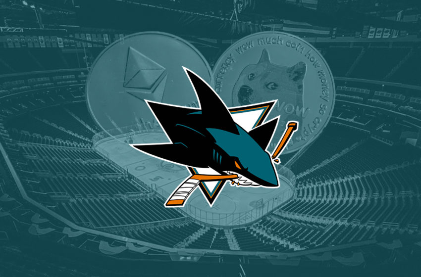 NHL team San Jose Sharks to accept payments via Bitcoin, Dogecoin, and others