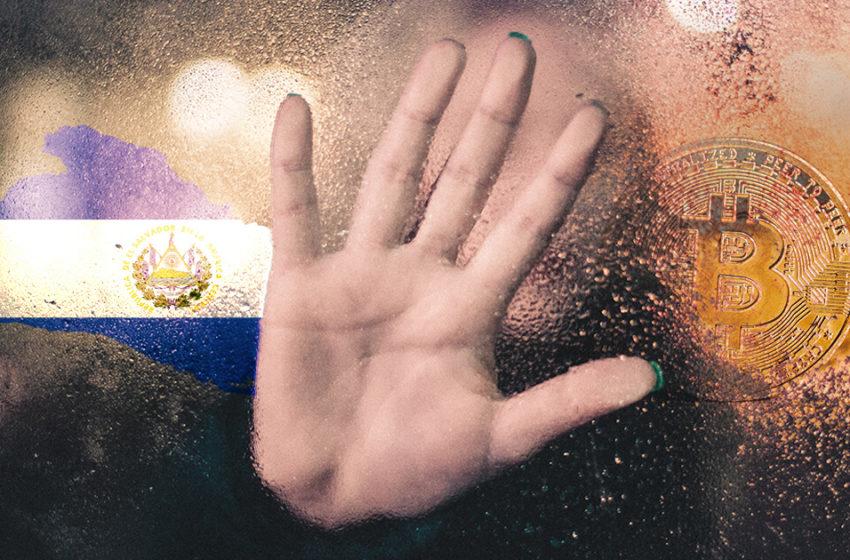 The World Bank wants no part in El Salvador's Bitcoin revolution